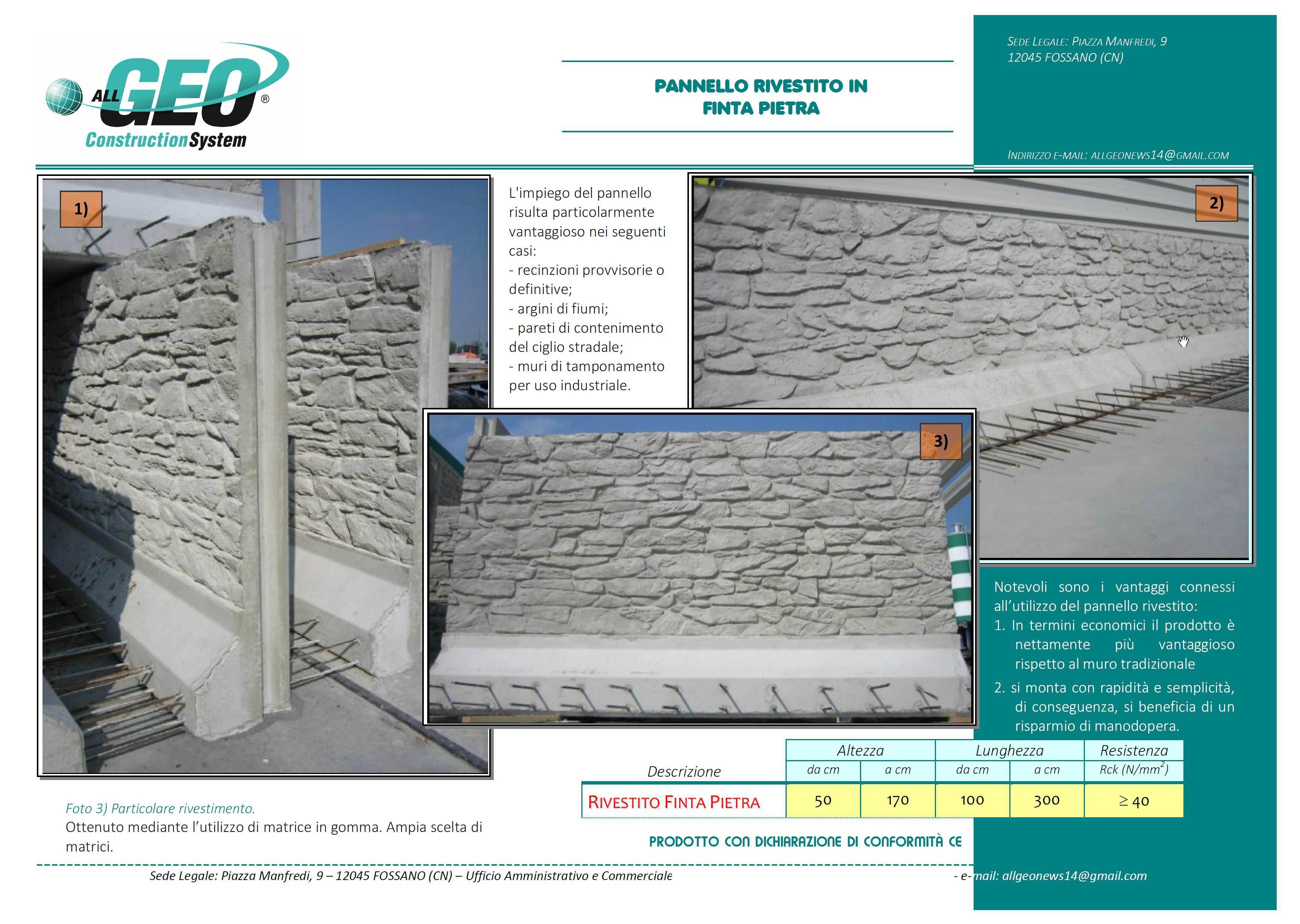 Paramento in finta pietra for Listino prezzi pannelli finta pietra